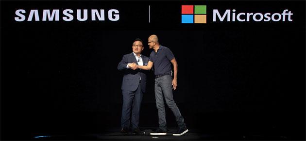 Samsung e Microsoft partner per offrire esperienze unificate sui dispositivi mobili