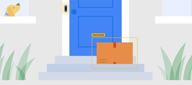 Google Nest Hello ora rileva la consegna di pacchi
