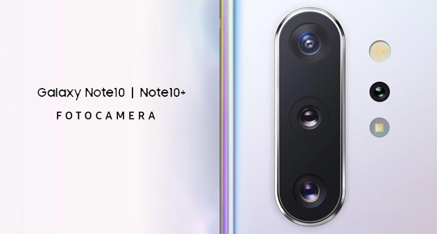 Samsung Galaxy Note10 - focus Fotocamera tra Video Editing, AR Doodle e Scanner 3D