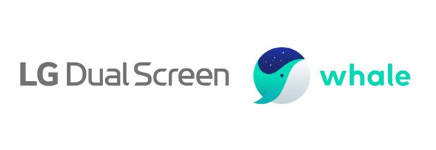 Lg e Naver presentano Whale, browser per smartphone con doppio schermo