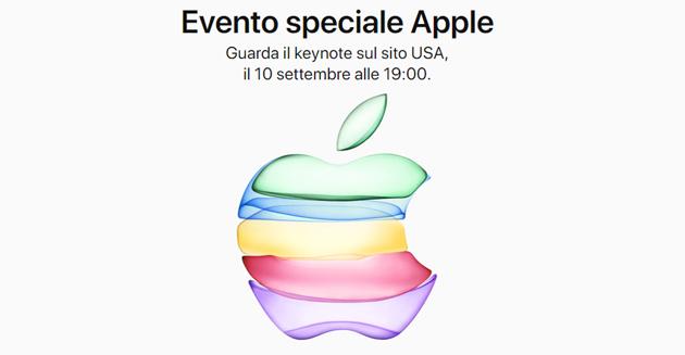 Apple annuncia iPhone 11, iPad 7a gen, Watch S5, Apple TV Plus, Apple Arcade