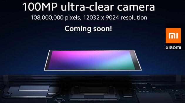 Xiaomi e Samsung annunciano sensore di immagine da 108MP per smartphone