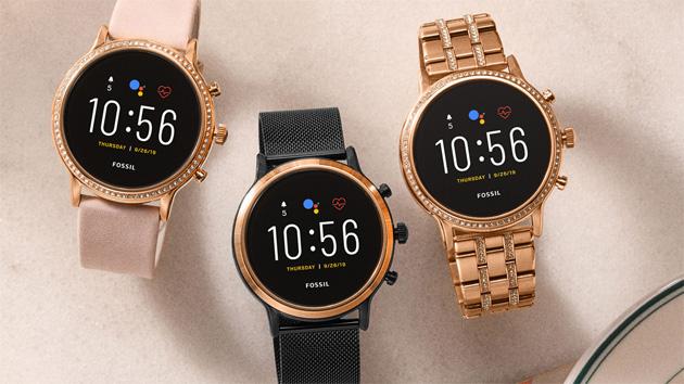 Smartwatch Fossil Gen5 con Wear OS, speaker per chiamate vocali e maggiore durata della batteria