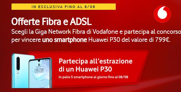 Vodafone Internet Unlimited regala Huawei P30: come partecipare al concorso (ultimi giorni)