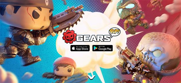 Gears POP, il gioco che combina Gears of War e Funko Pop su Android e iOS