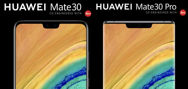 Huawei Mate30 e Mate30 Pro ufficiali: Specifiche, Foto, Video e Prezzi