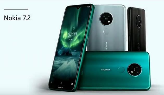 Nokia 7.2 con la sua tripla fotocamera circolare ufficiale a IFA 2019