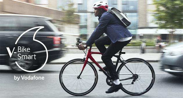 V-Bike Smart by Vodafone, dispositivo da bici con GPS per pedalare in sicurezza