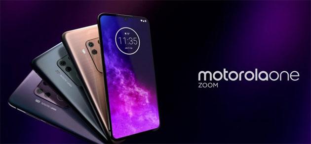 Motorola One Zoom con Quad-Camera con sensore da 48MP e zoom ottico 3x in Italia
