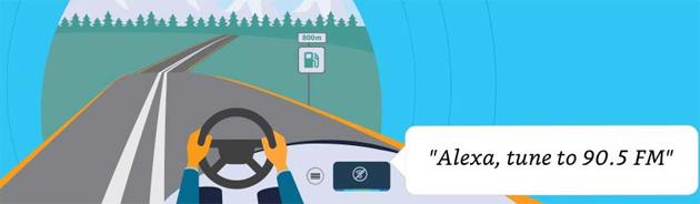 Alexa in Auto anche offline, senza connessione internet, ma non per tutto