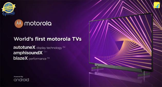 Motorola lancia la sua gamma di Android TV