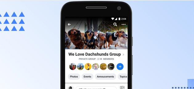 Facebook chiude le storie dei gruppi