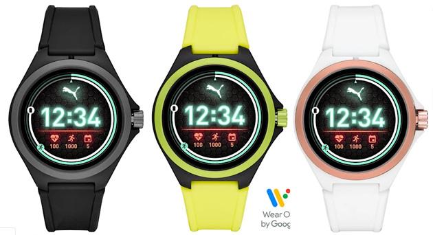 PUMA Gen 4, smartwatch rotondo con Wear OS, Google Assistant e Snapdragon Wear 3100
