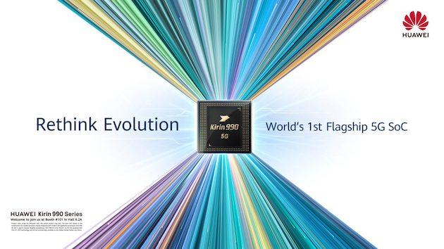 Huawei Kirin 990 ufficiale, il primo con il 5G dentro al processore