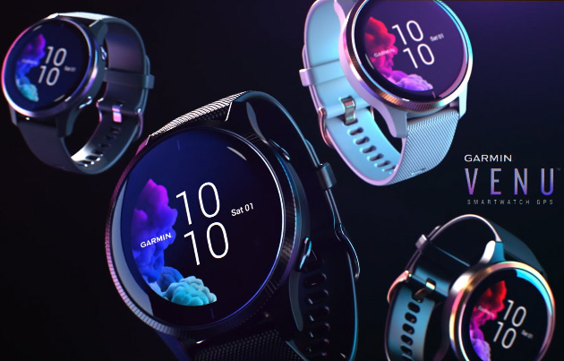 Garmin Venu, smartwatch con display Amoled per sportivi e non solo