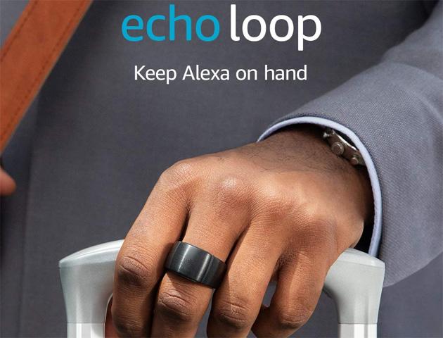 Amazon Echo Loop, anello intelligente con Alexa