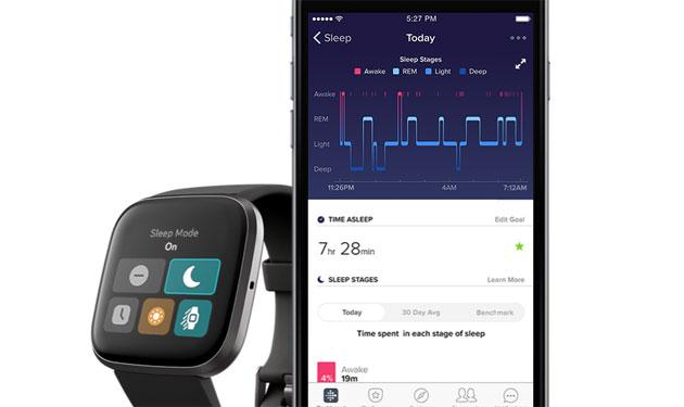 Fitbit Smart Wake, sveglia intelligente che vibra al momento giusto senza dare fastidio