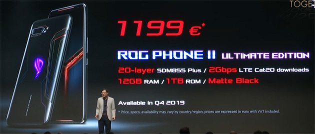 Foto Asus ROG Phone 2 in Italia in Ultimate, Elite, Strix Edition: Specifiche, Prezzi e Differenze