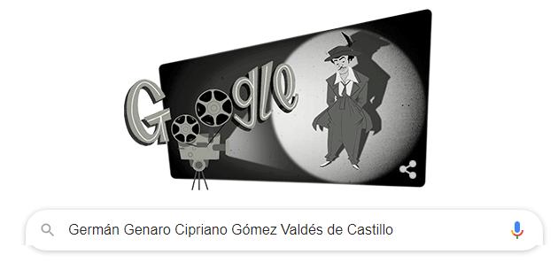 Google doodle per Tin Tan, 'pachuco' nato 104 anni fa