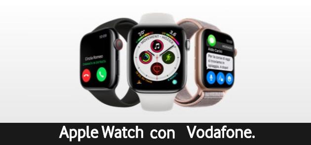 Vodafone sconta Apple Watch 4 Cellular di 90 euro
