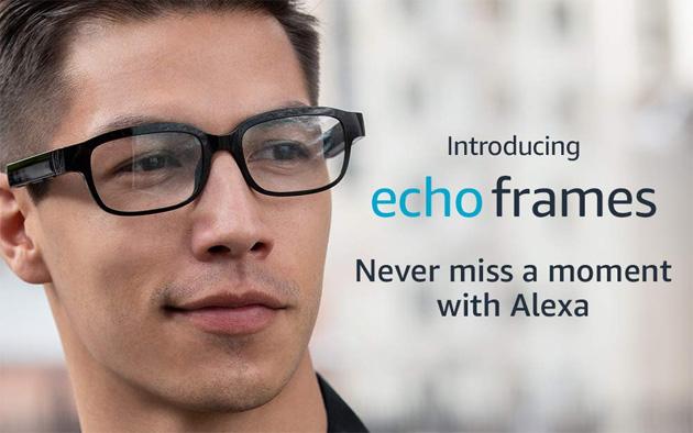 Amazon Echo Frames, occhiali intelligenti con Alexa