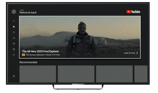 YouTube Masthead arriva sui TV, una invasione pubblicitaria
