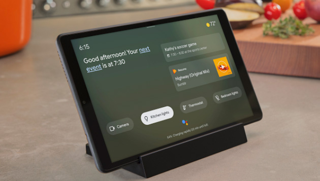La Modalita' Ambiente di Google Assistant trasforma i dispositivi Android in display intelligenti