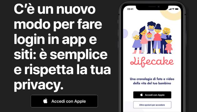 Sign In with Apple, accesso rapido nelle app con ID Apple. E la privacy viene rispettata