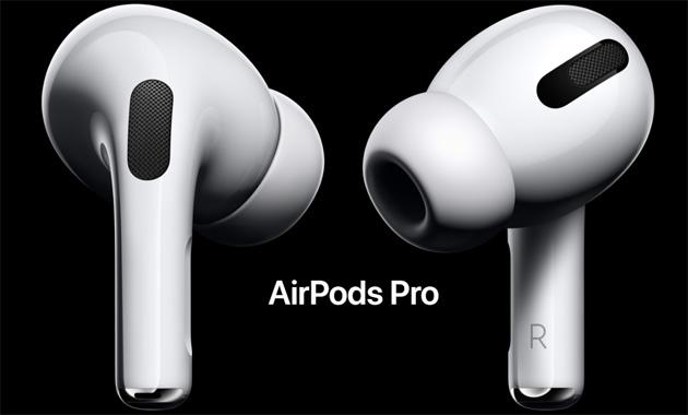 Apple Airpods Pro ufficiali con design nuovo e cancellazione attiva del rumore