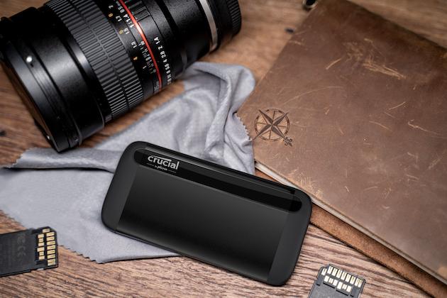 Crucial presenta X8, SSD portatile che resiste a tutto
