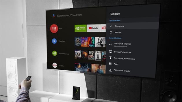 Nvidia su Shield TV testa l'adattamento alla frequenza dei fotogrammi dei contenuti (Match Frame Rate)