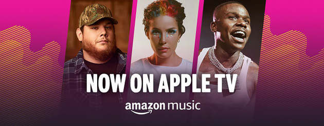Amazon Music su Apple TV