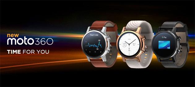 Lo smartwatch Moto 360 torna con hardware aggiornato e una importante novita'