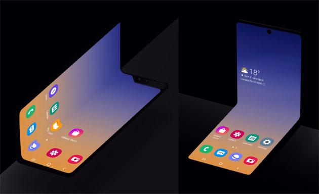 SDC19: Samsung presenta nuovo concept di smartphone pieghevole