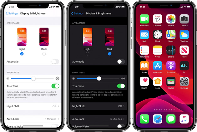 Apple iOS, come attivare Modalita' Scura (Dark mode) su iPhone, iPad e iPod touch e cosa cambia da Night Shift