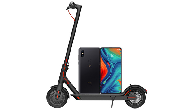 Xiaomi Mi Mix 3 5G regala un Mi Electric Scooter con Vodafone