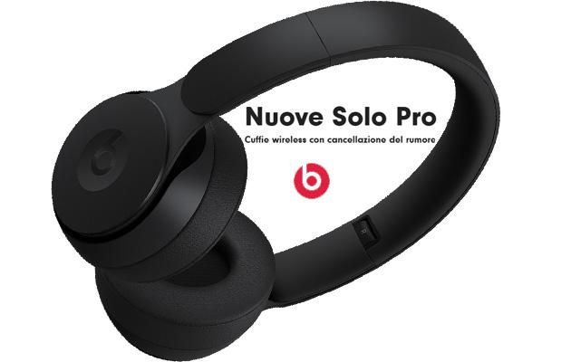 Apple lancia le cuffie wireless Beats Solo Pro di nuova generazione