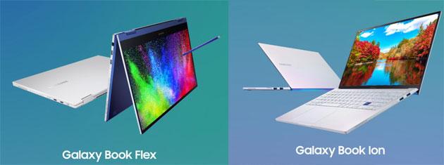 Samsung Galaxy Book Flex e Book Ion sono laptop potenti per professionisti sempre in movimento