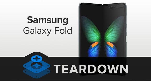 Galaxy Fold, lo smontaggio di iFixit mostra come Samsung ha sistemato i problemi