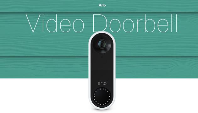 Arlo Video Doorbell in Italia: campanello intelligente con visione ampia e videochiamata diretta sullo smartphone quando viene premuto
