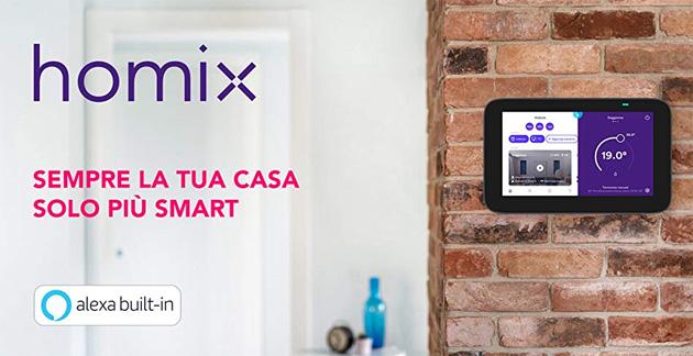 Enel X lancia in Italia Homix, ecosistema di smart device con supporto Alexa
