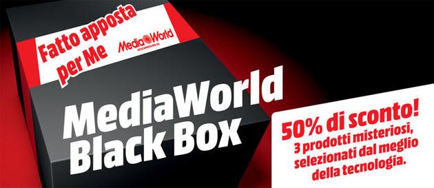 MediaWorld lancia la Black Box con 3 prodotti a prezzo speciale, anche per il proprio smartphone