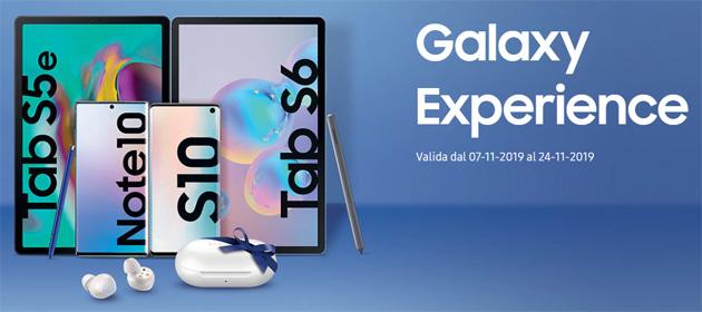 Samsung regala Galaxy Buds acquistando un nuovo tablet o smartphone tra quelli promozionati