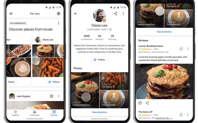 Google Maps testa social per seguire le Guide locali