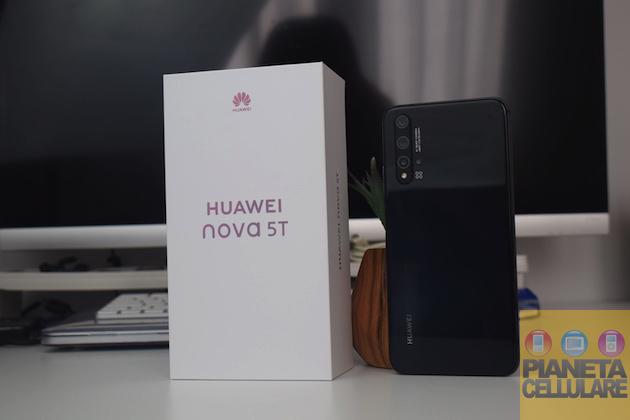 Recensione Huawei Nova 5T, Google Apps e batteria infinita