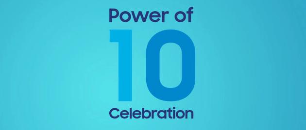 Samsung, Festa dei 10 anni di Galaxy: sconto voucher a chi non ha completato l'ordine