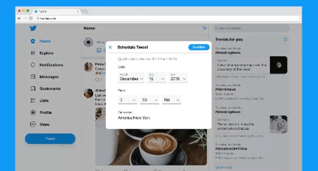 Twitter fa programmare la pubblicazione dei tweet