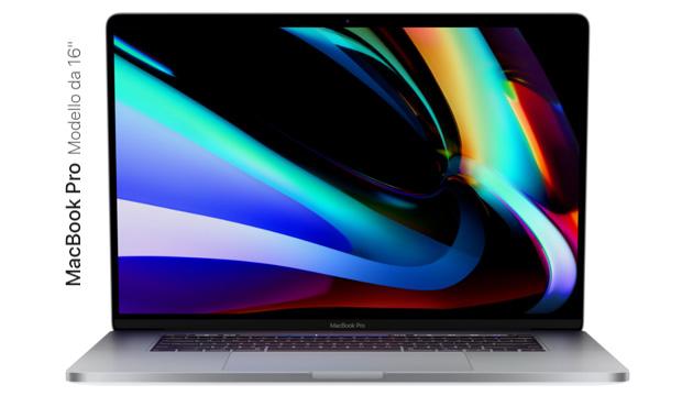 Apple lancia MacBook Pro 16: caratteristiche e prezzi
