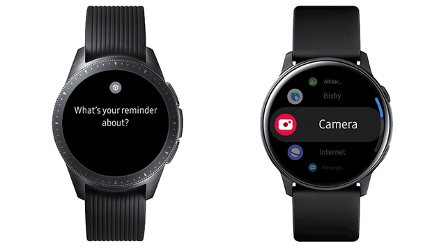 Samsung aggiorna Galaxy Watch e Watch Active con funzioni del Watch Active2