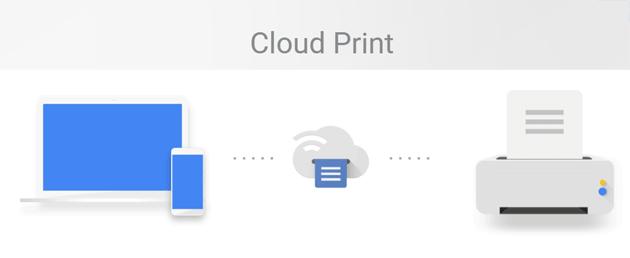 Google Cloud Print chiude il 31 dicembre 2020